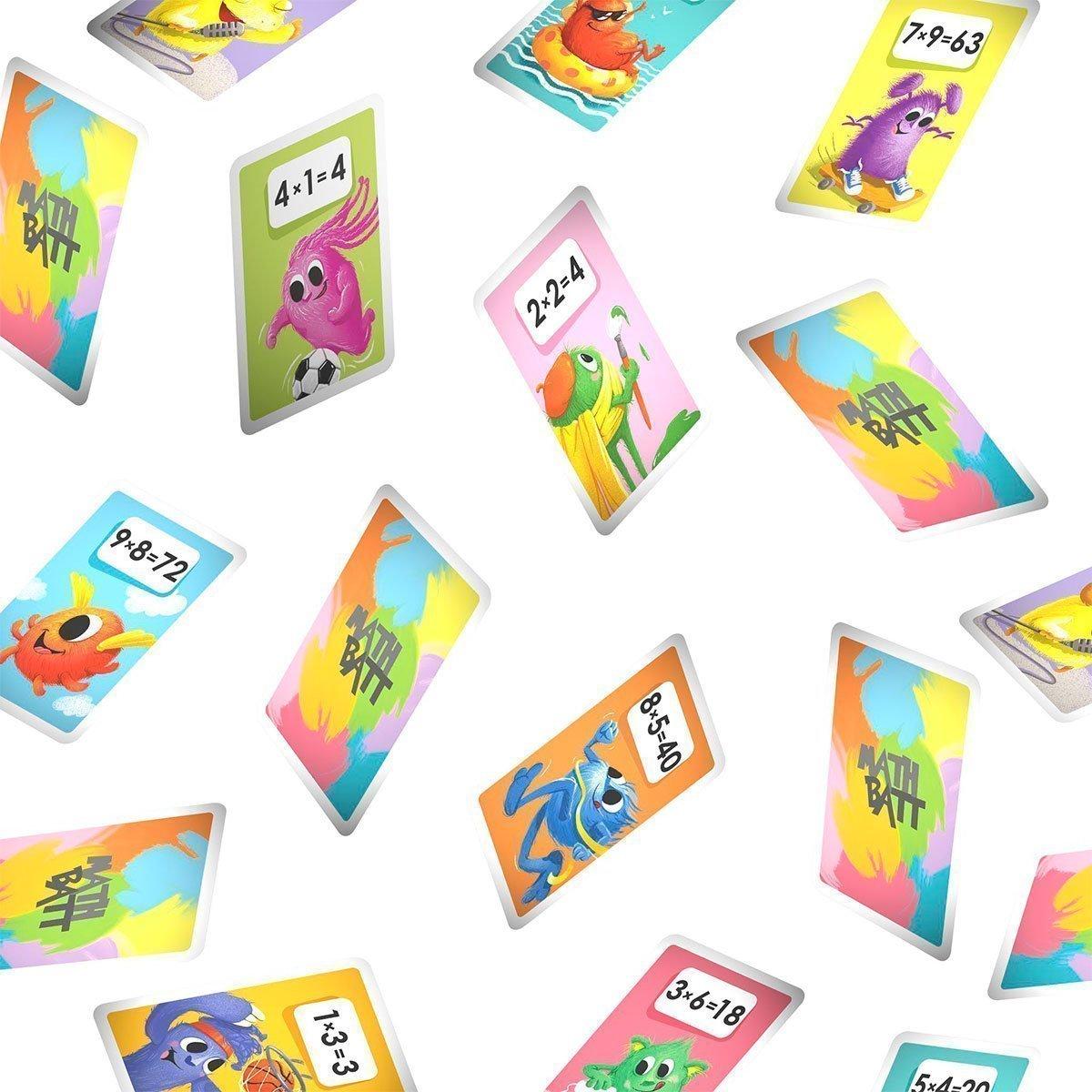 Lernspiele und Kartenspiele für die Mathe