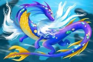 Drachen der Elemente - Wasser Drache