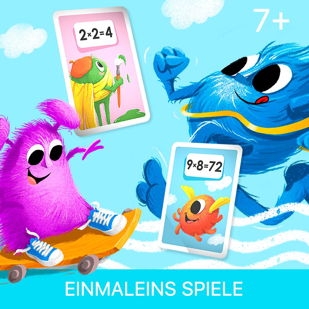 Einmaleins Spiele für die Grundschule