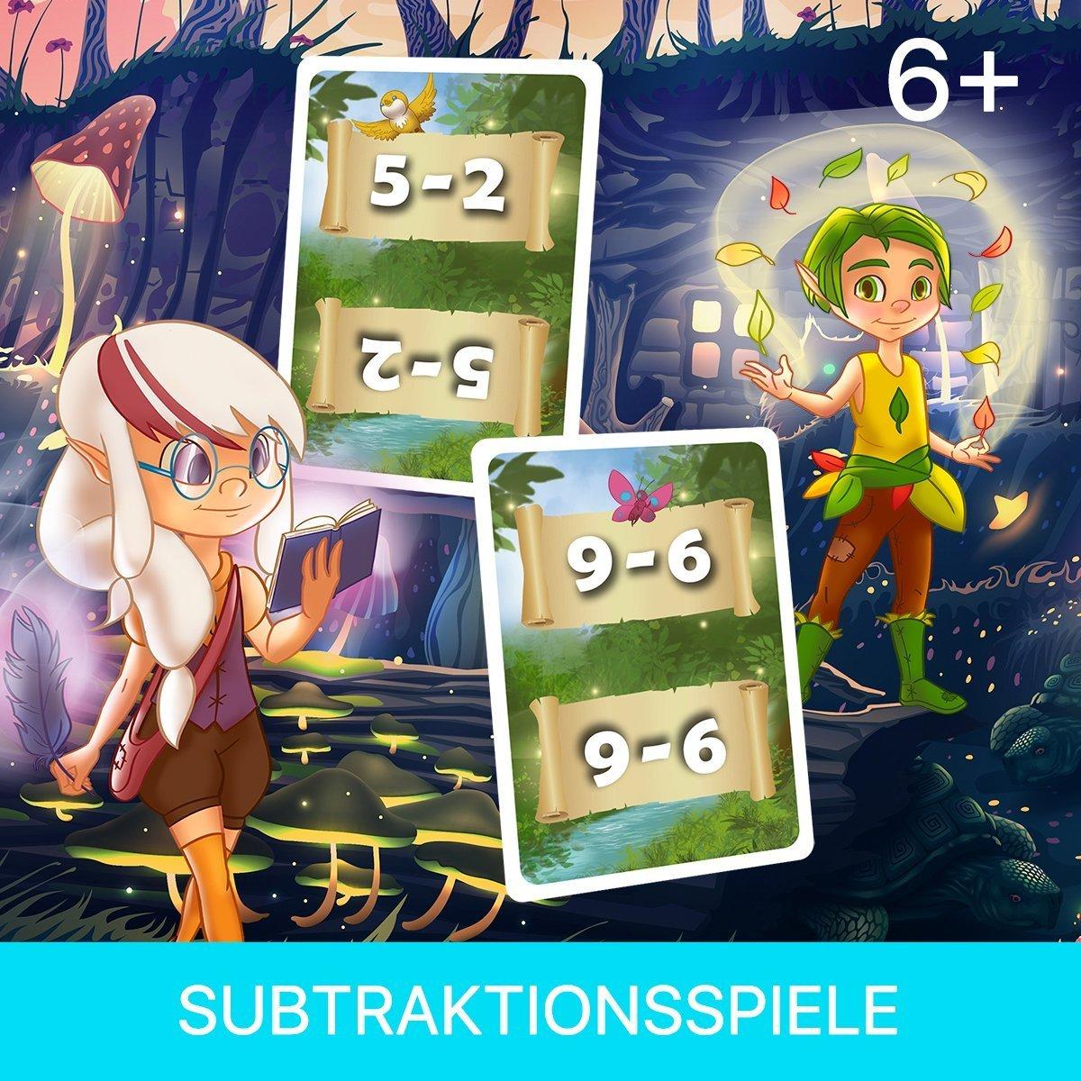 Subtraktionsspiel Mathemeister Minus für die Grundschule
